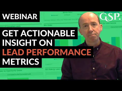 Webinar | Get Actionable Insight on Lead Performance Metrics