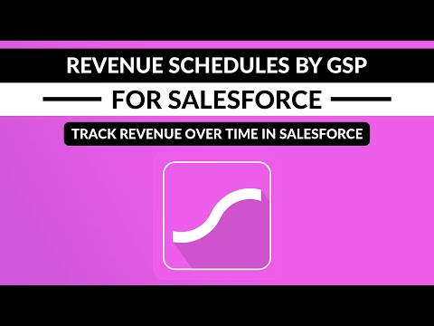 Revenue Schedules by GSP - Schedule Opportunity Product Revenue Over Time