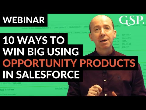 10 Ways To Win Big Using Opportunity Products In Salesforce