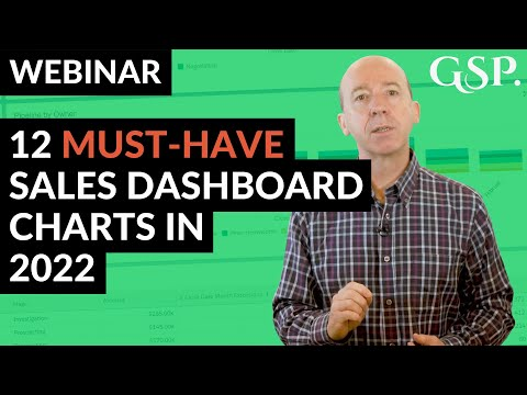 Webinar | 12 Must-Have Sales Dashboard Charts In 2019