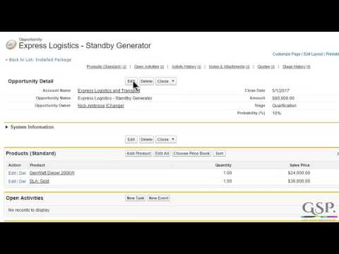 Link Close Date To Product Schedules In Salesforce
