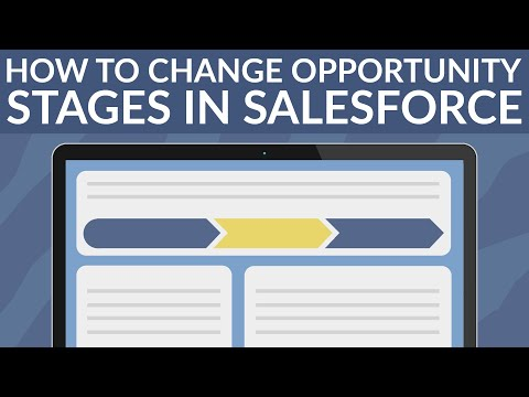How To Change Opportunity Stages In Salesforce