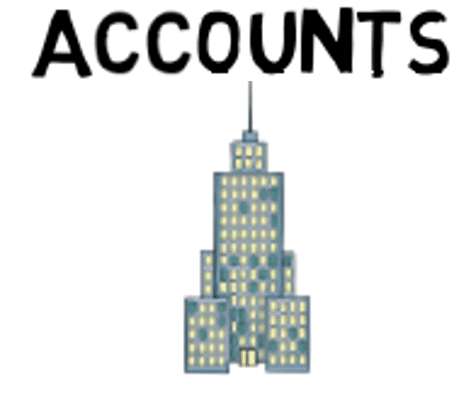 Accounts are usually customers and prospects, but they can also be other types of organization such as suppliers, consultants and partners..