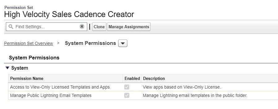 Make sure you're assigning users to the correct permission set