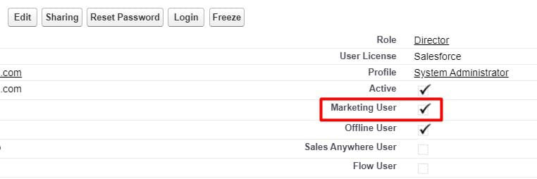 Enable Marketing User to create Salesforce Campaigns